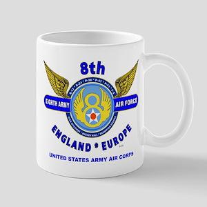 8TH ARMY AIR FORCE*ARMY AIR CORPS WORLD Mug