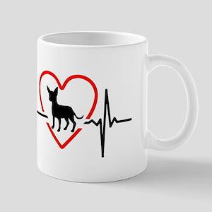 i love chihuahua Mugs