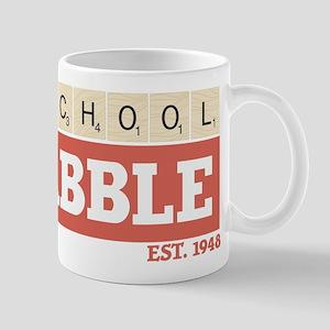 Old School Scrabble 11 oz Ceramic Mug