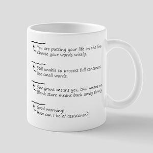 Morning Coffee Level Mug