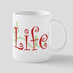 Holiday Pug Life Mug