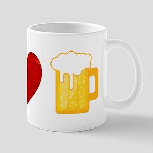 Peace Love Beer Mug
