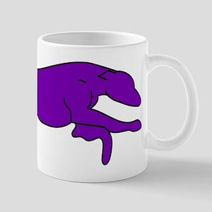 Greyhound Outline multi color Mug