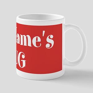 RED Personalized Mug