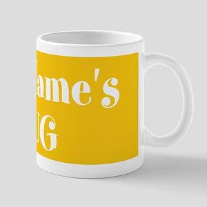 YELLOW Personalized Mug