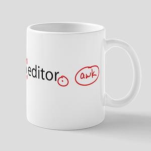 I Am An Editor Mug