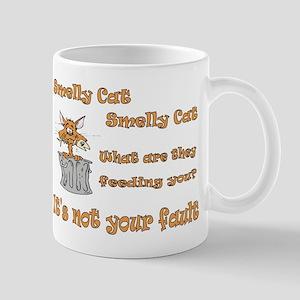 Smelly Cat Lyrics Mug