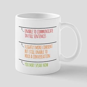 You May Speak Now Mugs