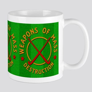 Field Hockey Weapons of Destruction Mugs