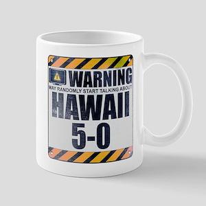 Warning: Hawaii 5-0 Mug