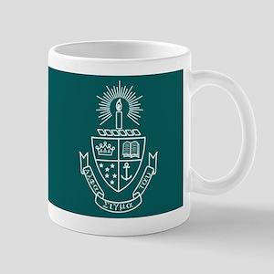 Alpha Sigma Tau Logo Crest Green Mug