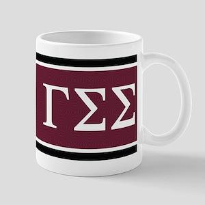 Gamma Sigma Sigma Letters Mug