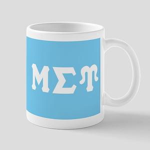 Mu Sigma Upsilon Sorority Letters and Symbol Mugs