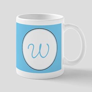 Mu Sigma Upsilon Sorority Crest Blue Ba Mug