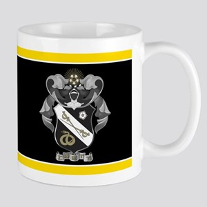 Sigma Nu Letters Crest Mug