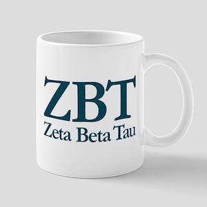 Zeta Beta Tau Fraternity Letters and Cr Mug