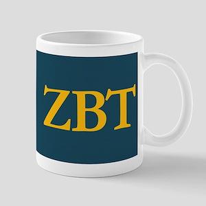 Zeta Beta Tau Fraternity Crest and Lett Mug