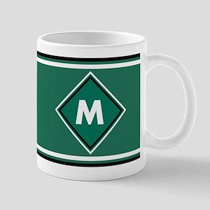 Npc Green Monogram Mug Mugs
