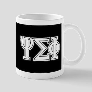 Psi Sigma Phi Crest Letters Mug
