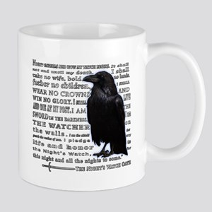 Night's Watch Oath Crow Mugs