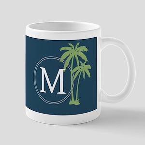 Alpha Chi Rho Beach Monogram Mugs