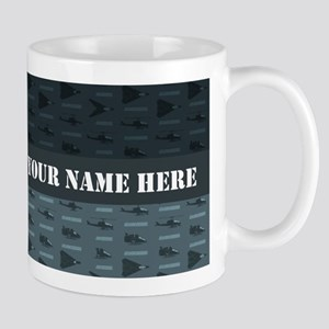 G.I. Joe Pattern Personalized 11 oz Ceramic Mug