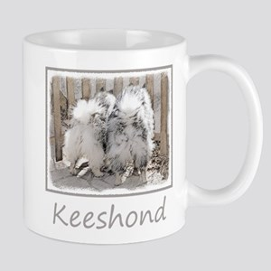 Keeshonds at the Gate 11 oz Ceramic Mug