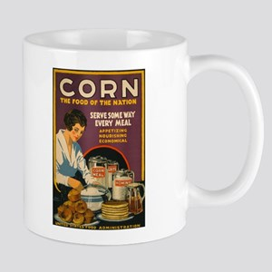 CORN MEAL coffee cup