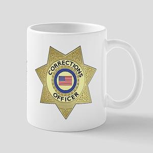 Corrections Badge Mug