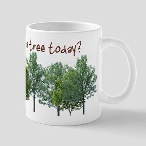 Hug A Tree - Mug