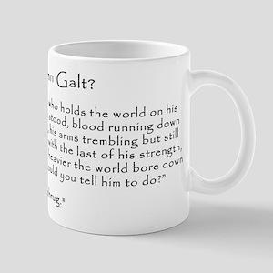 Who is John Galt? Atlas Shrugged Mug