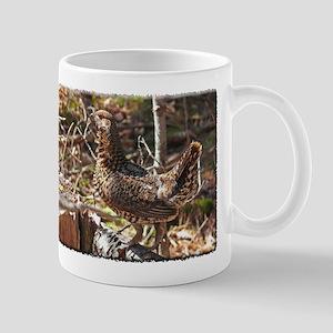 Strutting Spruce Grouse Mug