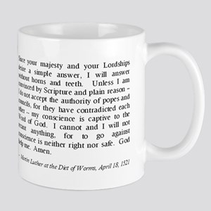 Luther at Worms Mug