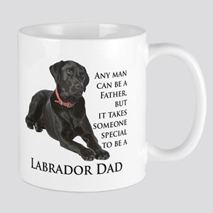 Black Lab Dad Mug