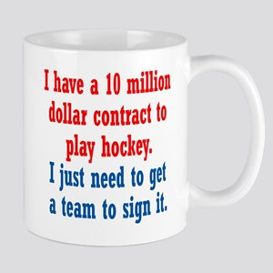 Hockey Contract Mug