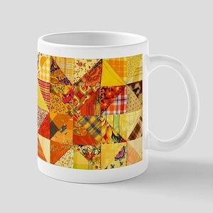Fun Patchwork Quilt Mug