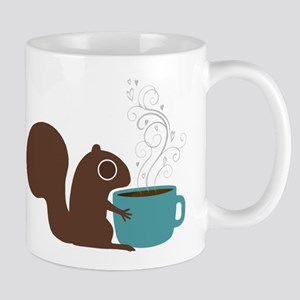 Coffee Squirrel Mug