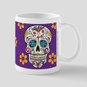 Sugar Skull PURPLE Mug