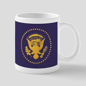 Gold Presidential Seal, VIP, The White Mug