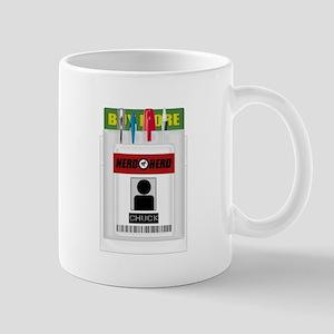 Chuck Pocket Protector Mug