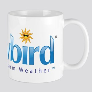 Snowbird - Wintering in Warm Weather Mugs