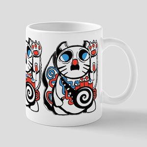 Lucky Kitty Mugs