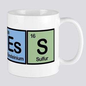 Chess made of Elements Mug
