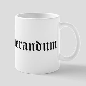 Nil Desperandum Mug