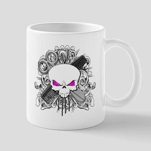Hairdresser Pirate Skull Mug