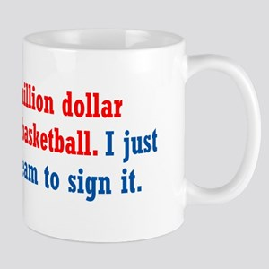 Basketball Contract Mug