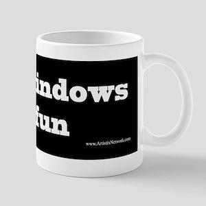 I lick windows Mug