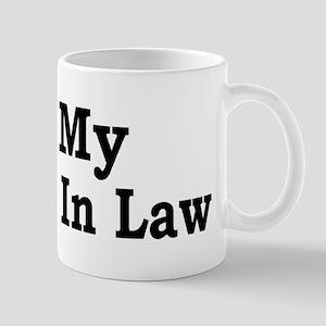 I love my Mother In Law Mug