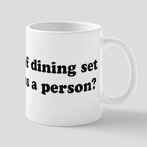 What kind of dining set Mug