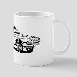 El Camino car Mugs